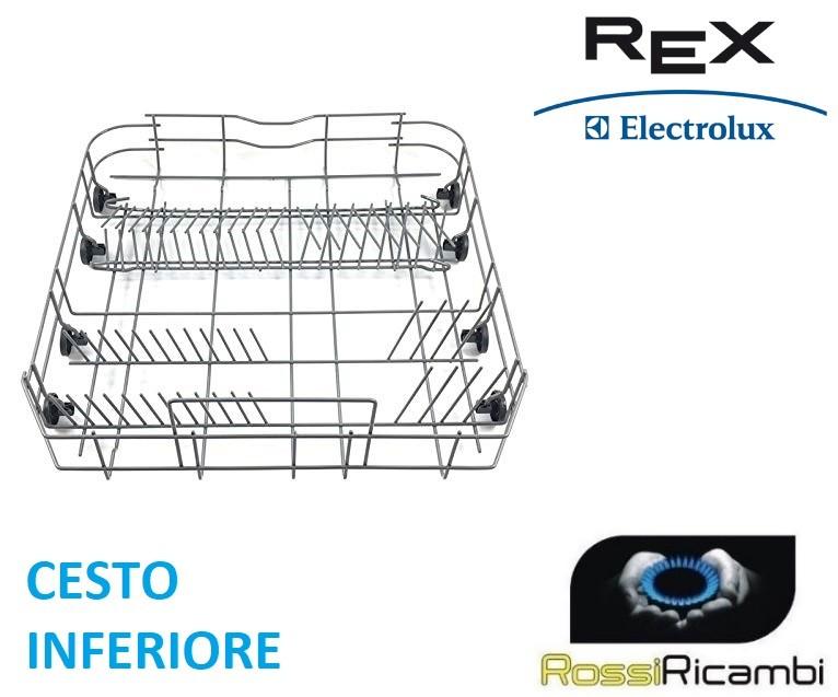 ELECTROLUX ZANUSSI AEG Lavastoviglie Cestello Superiore superiore ruota 50286967000 x 8 ORIGINALE