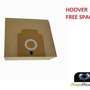 HOOVER 8 SACCHETTI ASPIRAPOLVERE SERIE FREESPACE TFS 5100-011.. 5207