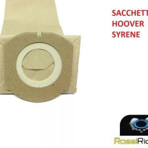 8 SACCHETTI SCOPA ELETTRICA HOOVER SYRENE SR71 - SR01011