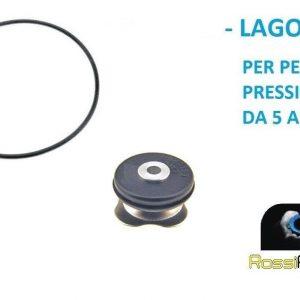 LAGOSTINA GUARNIZIONE + VALVOLA PENTOLA A PRESSIONE 3 - 5 - 7 LITRI 19 - 22 CM