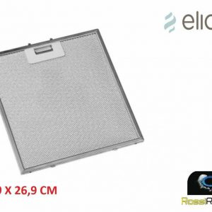 FILTRO CAPPA ELICA METALLICO IN ALLUMINIO GF01DD PER LAKE RUBI SPICY 219x269 MM