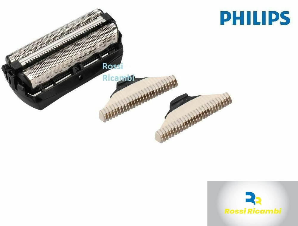 Unità cutter originale Philips QC5500 QC5550 QC5580 testina rasoio 422203618111